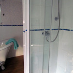 Shower in private bathroom