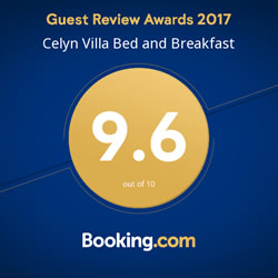 Booking.com Award 9.7
